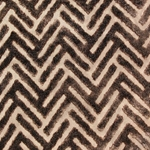 Haute House Fabric - Devious Mocha - Chevron Velvet #3921