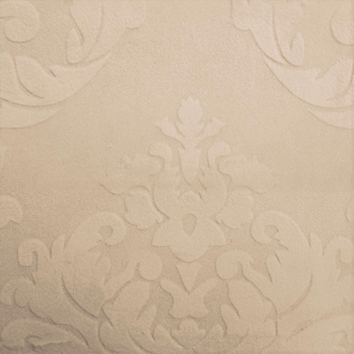 Haute House Fabric - Nattie Ecru - Damask Velvet #4037
