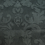 Haute House Fabric - Nattie Gray - Damask Velvet #4041