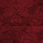 Haute House Fabric - Nattie Red - Damask Velvet #4045