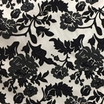 Haute House Fabric - Vidara Black - Velvet #4354