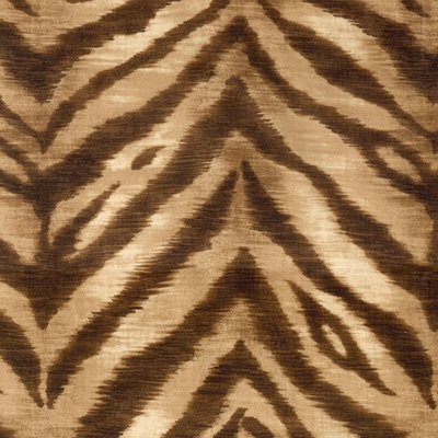 Haute House Fabric -Tigger Sahara - Animal Upholstery Fabric #4681