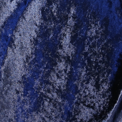 Haute House Fabric - Palazzo Navy - Crushed Velvet #4795