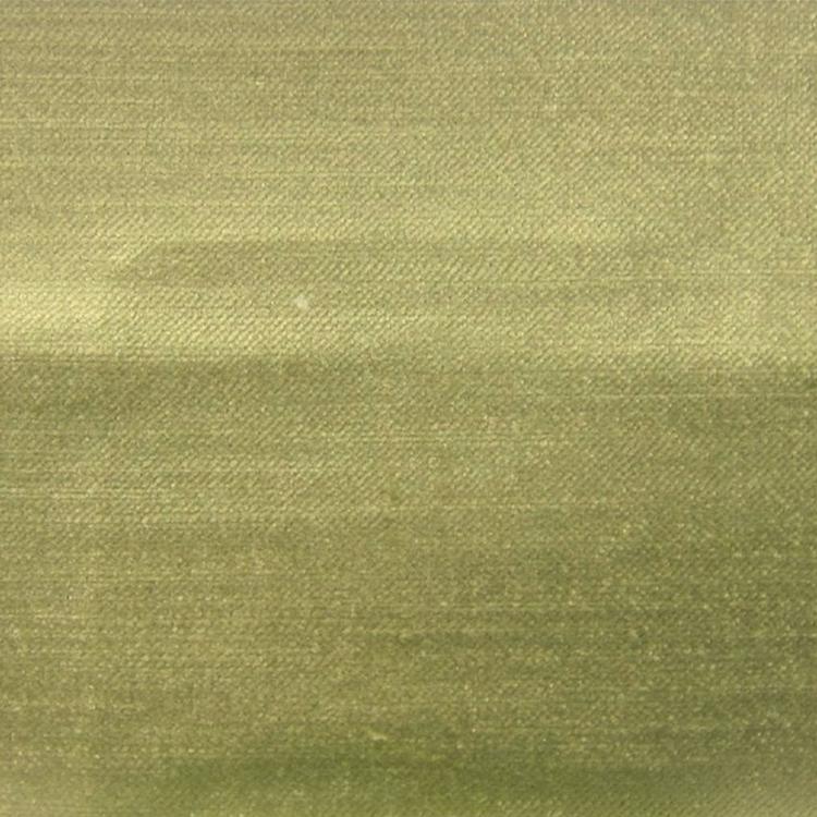 Light Green Velvet Designer Upholstery Fabric Imperial