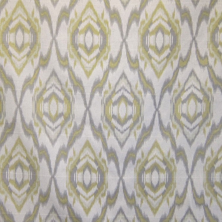 Haute House Fabric - Bismarl Citron- Ikat Fabric # 3118
