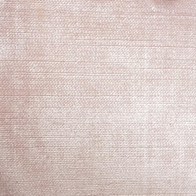Pink Velvet Upholstery Fabric Shimmer Blush