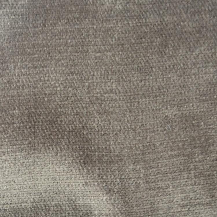 Grey Velvet Designer Upholstery Fabric Shimmer